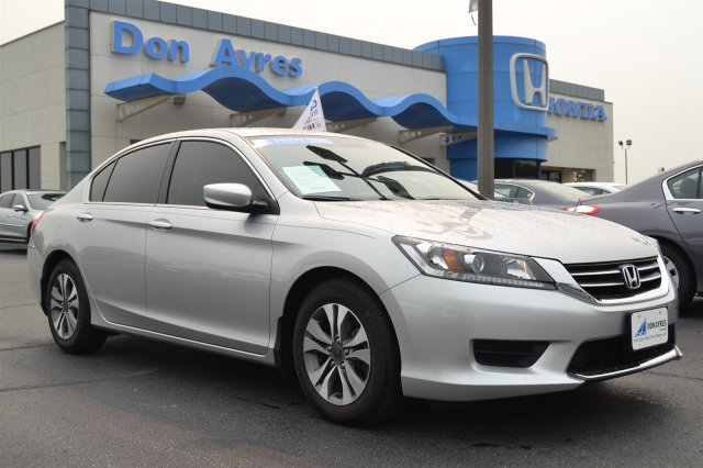 Certified Used Honda Accord Sdn LX