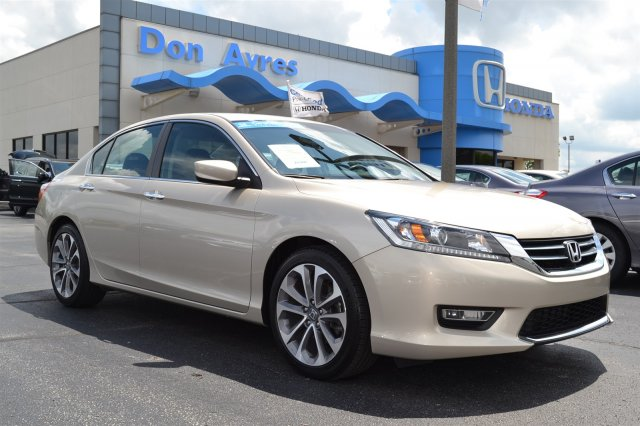 Certified Used Honda Accord Sdn Sport