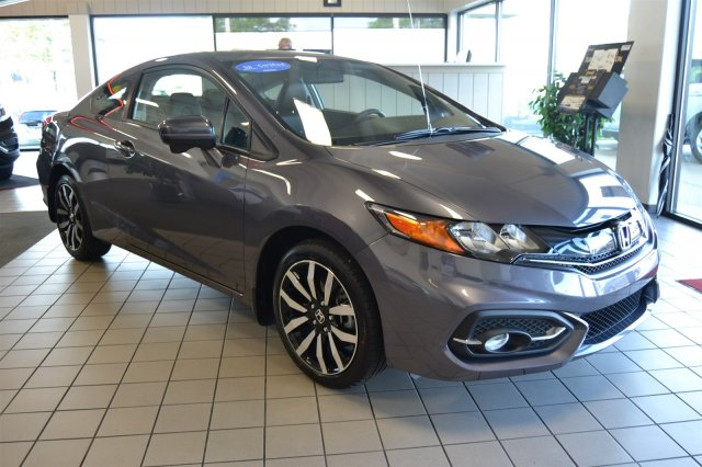 Certified Used Honda Civic Coupe EX-L